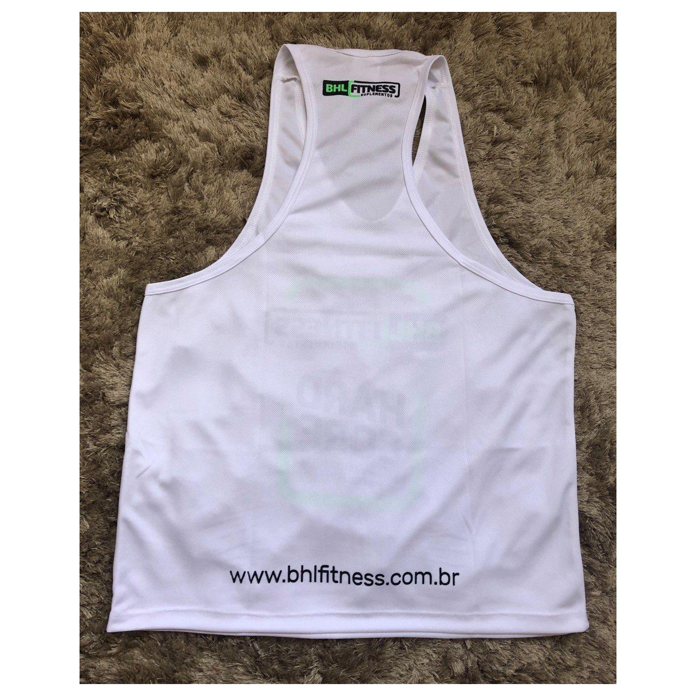 8e876769deefb Regata Cavada (Branca) - BHL Fitness